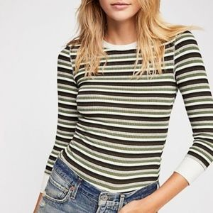 Intimately Free People 'Good on You' Striped Tee